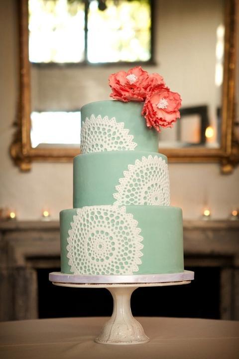 Aqua and coral palette - wedding - Obrázek č. 43