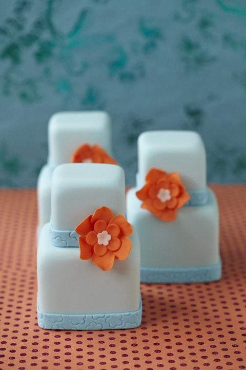 Aqua and coral palette - wedding - Obrázek č. 12