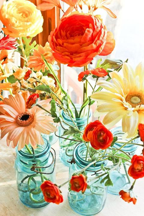Aqua and coral palette - wedding - Obrázek č. 47