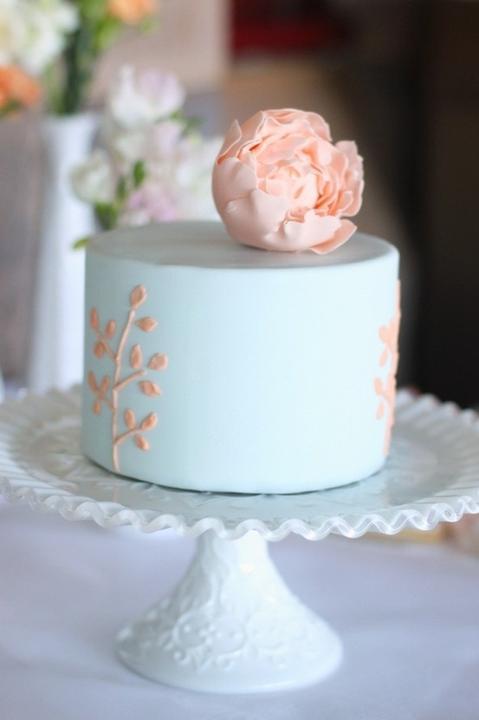 Aqua and coral palette - wedding - Obrázek č. 56