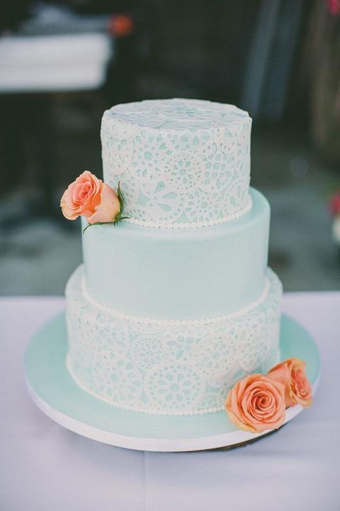 Aqua and coral palette - wedding - Obrázek č. 69