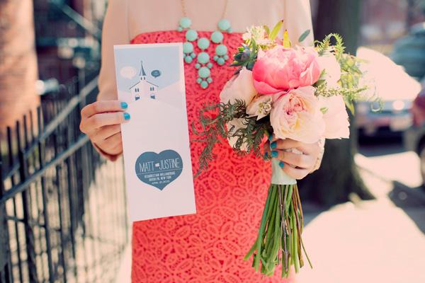 Aqua and coral palette - wedding - Obrázek č. 82