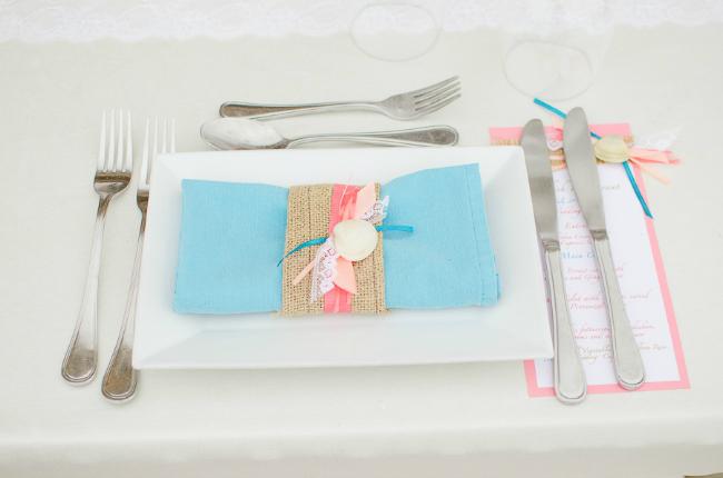 Aqua and coral palette - wedding - Obrázek č. 83