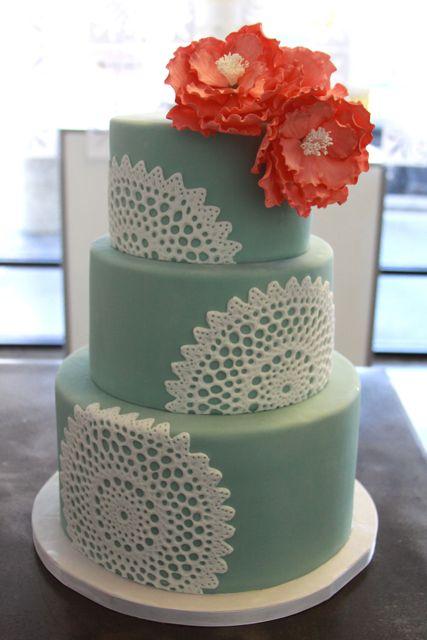 Aqua and coral palette - wedding - Obrázek č. 84
