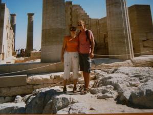 Svatební cesta - Rhodos 2006
