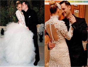 Svoje šťastie v roku 2010 našla aj Nicole Richie po boku Joela Maddena. Okrem ľudských hostí sa svadby zúčastnil aj pán slon a páru spieval nevlastný otec Lionel Richie.