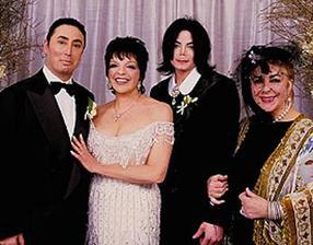 Za najprominentnejšiu je často označovaná svadba Lizy Minnelli a Davida Gesta, ktorým za svedka bol M. Jackson. Panoptikum doplnila Elizabeth Taylor. Zaspievali si aj Tony Bennett a Stevie Wonder. Zaujímavou položkou bola kvetinová výzdoba - 700tis.$