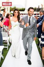 do tretice všetko dobré (hádam) pre zúfalú manželku Evu Longoriu a jej zákonitého Jose Bastona. Na ich mexickú svadbu zavítala aj Victoria Beckham, ktorá nielenže odela nevestu od hlavy po päty ale ujala sa aj roly svedka.