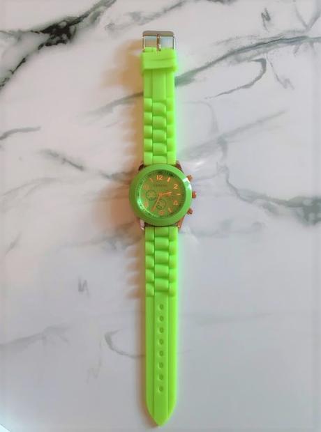 Zelené hodinky silikonové - Obrázek č. 1