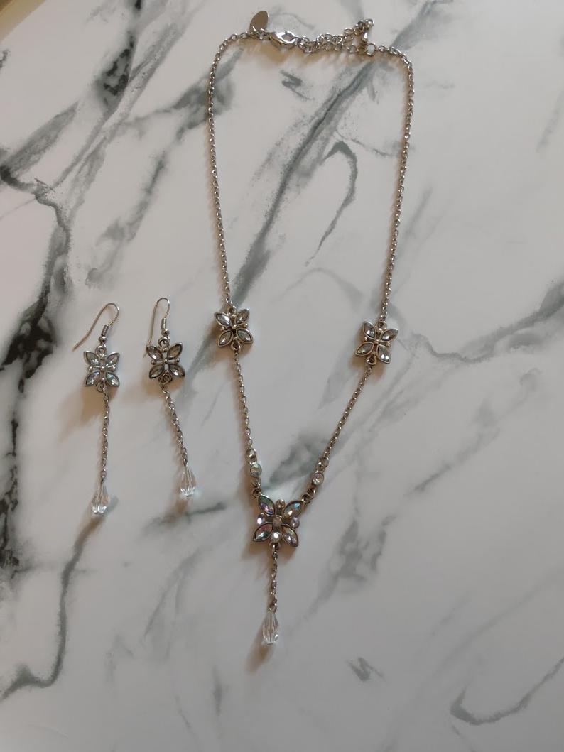 Set náhrdelník a náušnice motýli - Obrázek č. 1