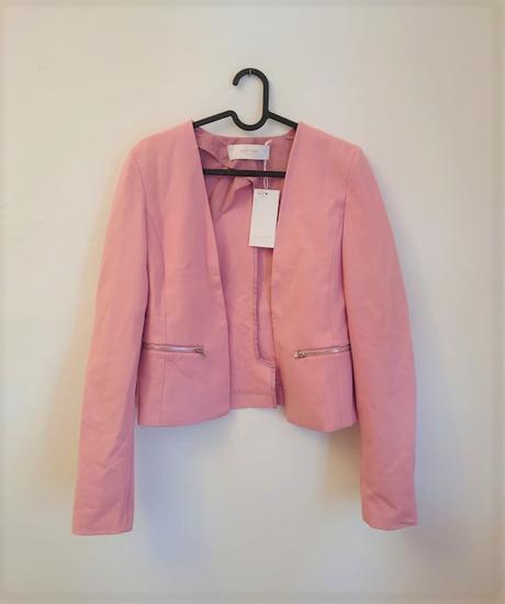 Růžové sako s dlouhým rukávem, Reserved vel 34 - Obrázek č. 1