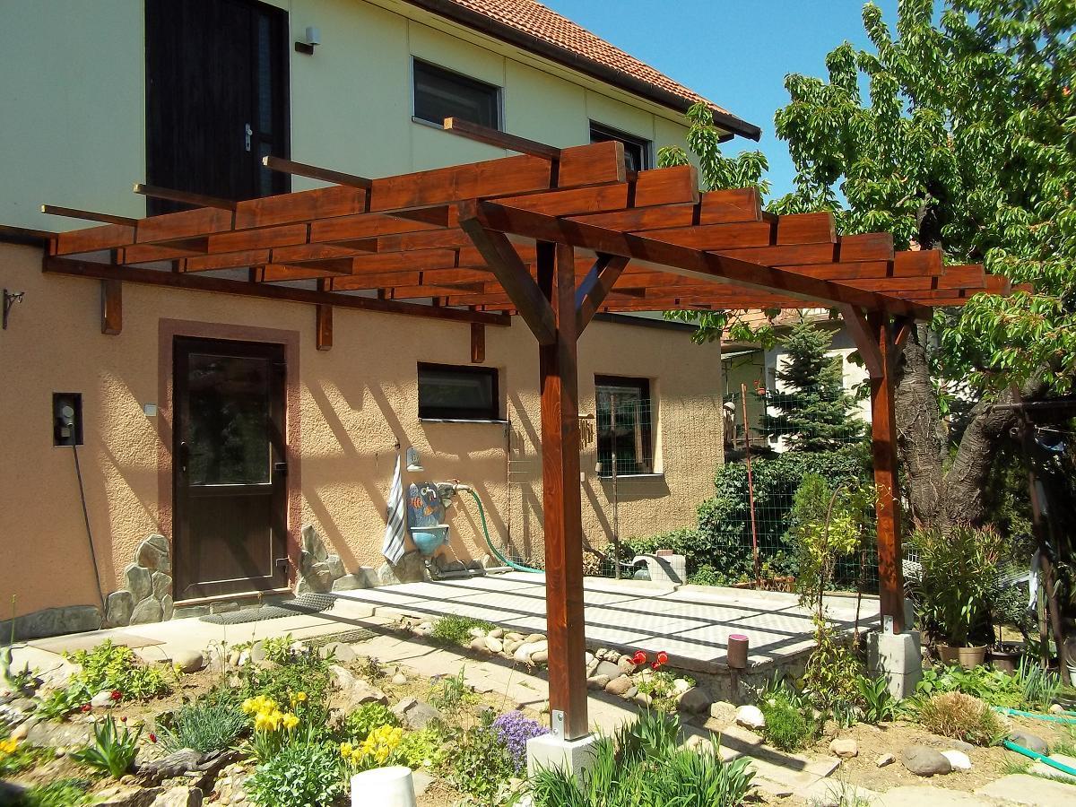 Záhradné drevostavby - terasy, pergoly - Obrázok č. 10