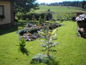 okrasná část zahrady