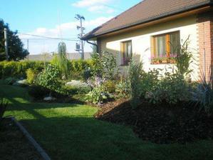 rozšířená okrasná zahrada