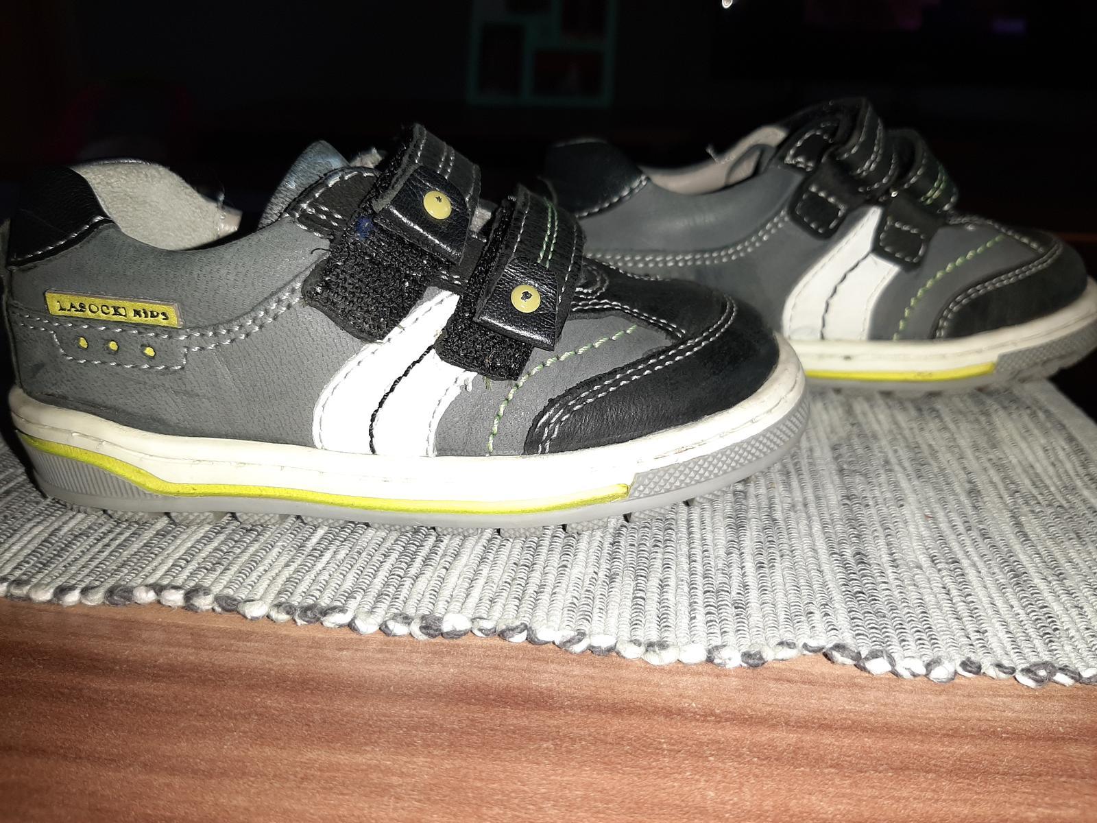 Chlapčenské kožené topánočky - Obrázok č. 1