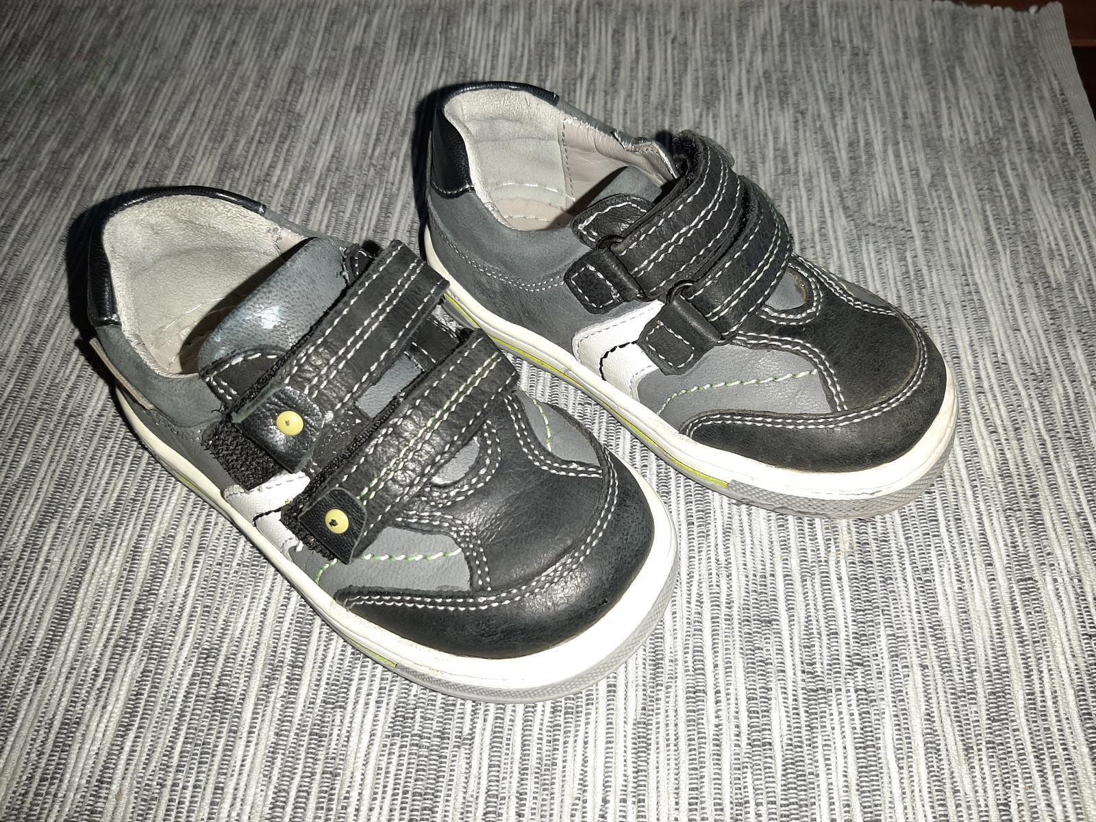Chlapčenské kožené topánočky - Obrázok č. 2