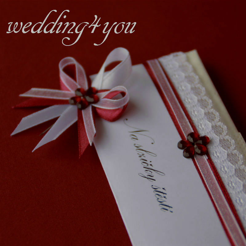 Bordó svatební sada - Obrázek č. 3