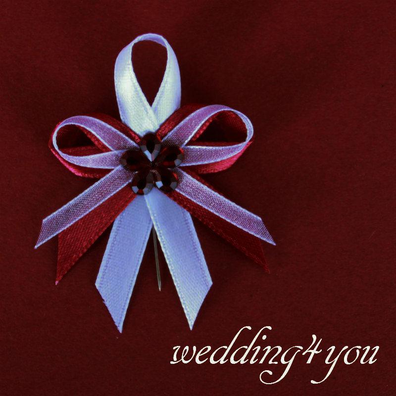 Bordó svatební sada - Obrázek č. 4