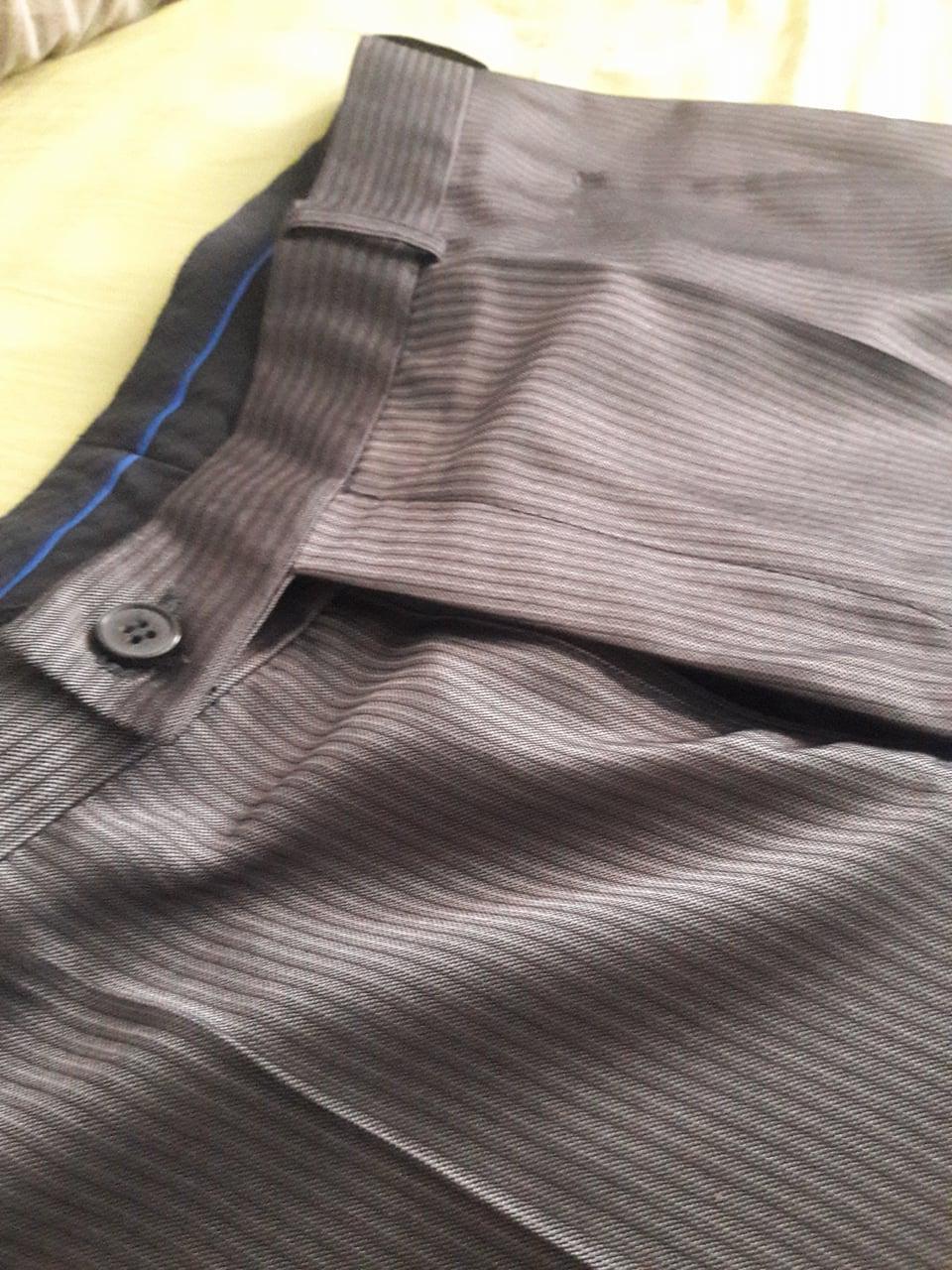 Pánske elegantné nohavice - Obrázok č. 3