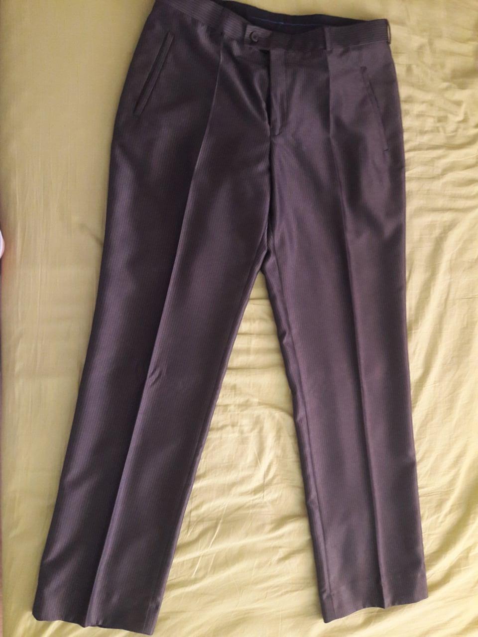 Pánske elegantné nohavice - Obrázok č. 1