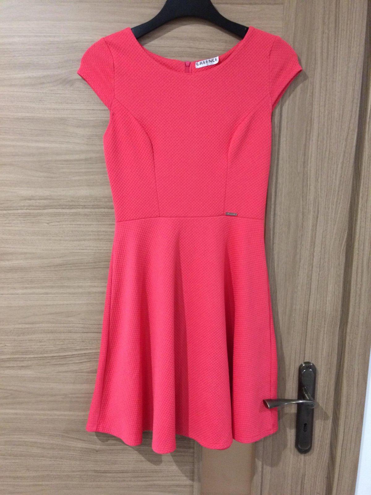 Ružové šaty L - Obrázok č. 1