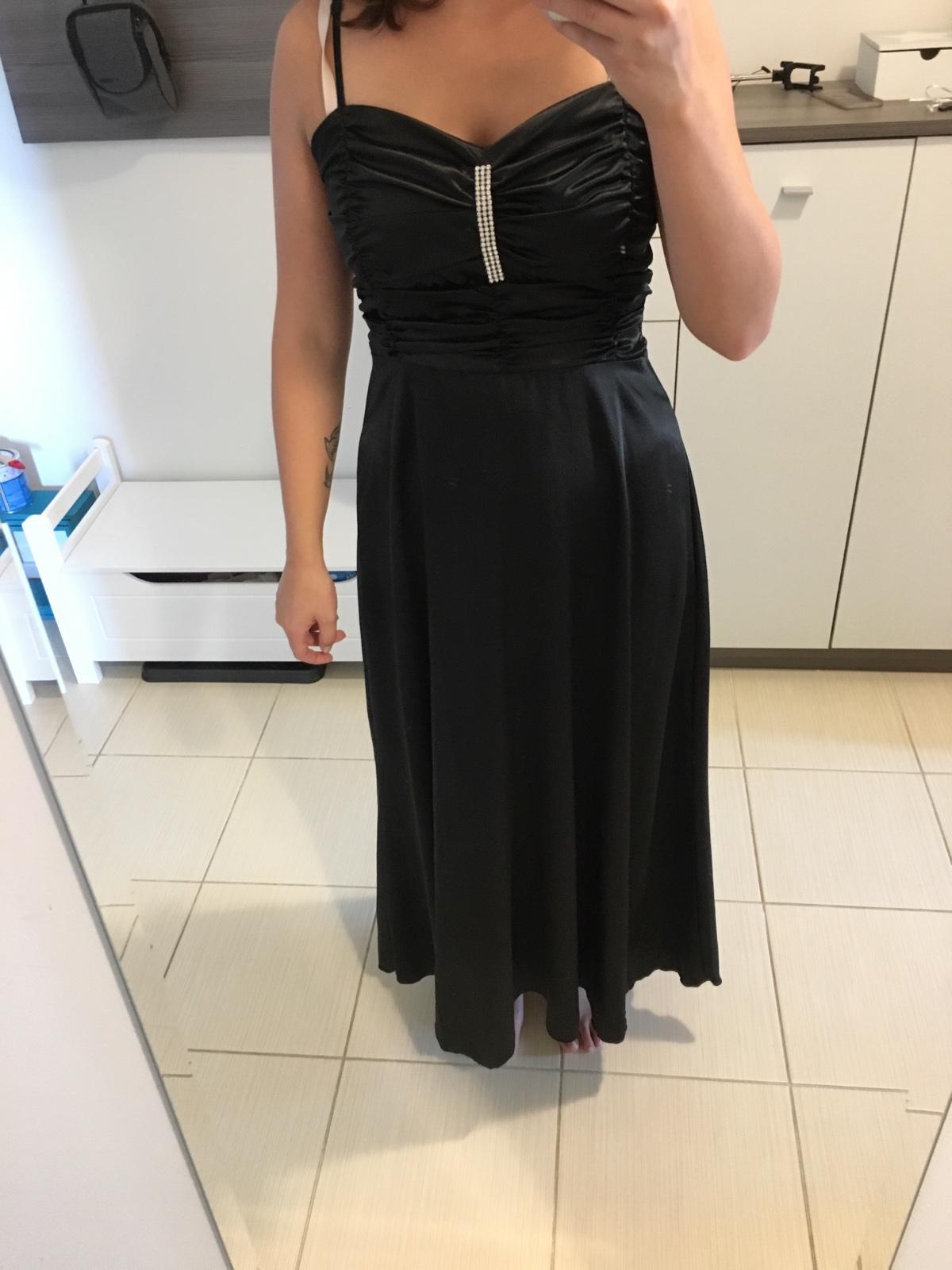 satenove šaty - Obrázok č. 3
