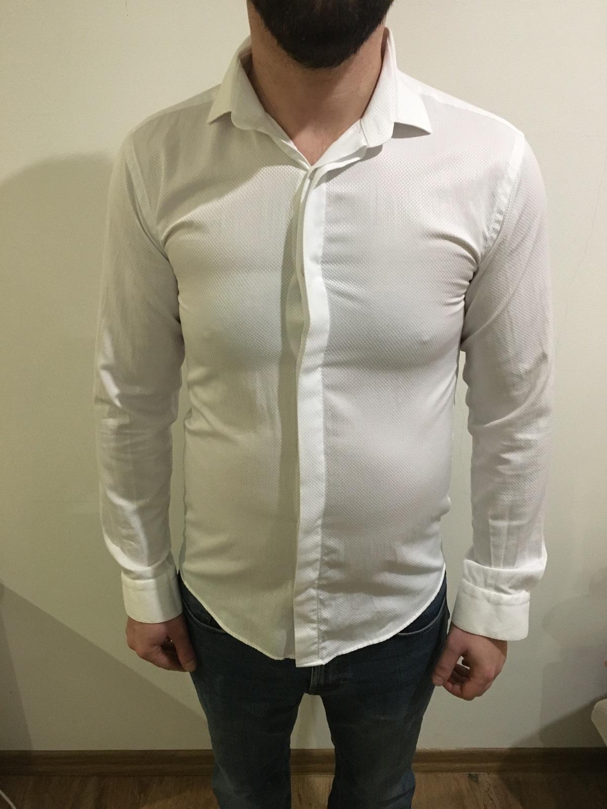 Biela košeľa - Obrázok č. 3