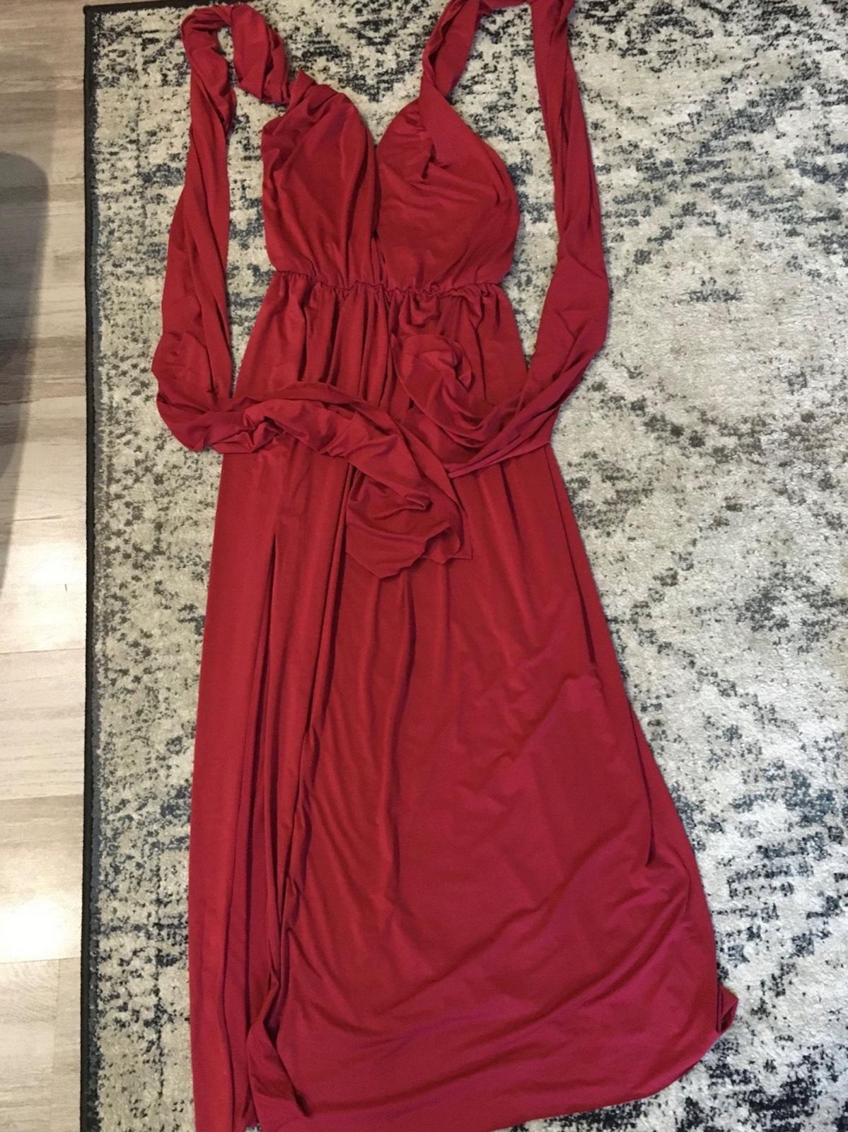 Bordové šaty - Obrázok č. 2