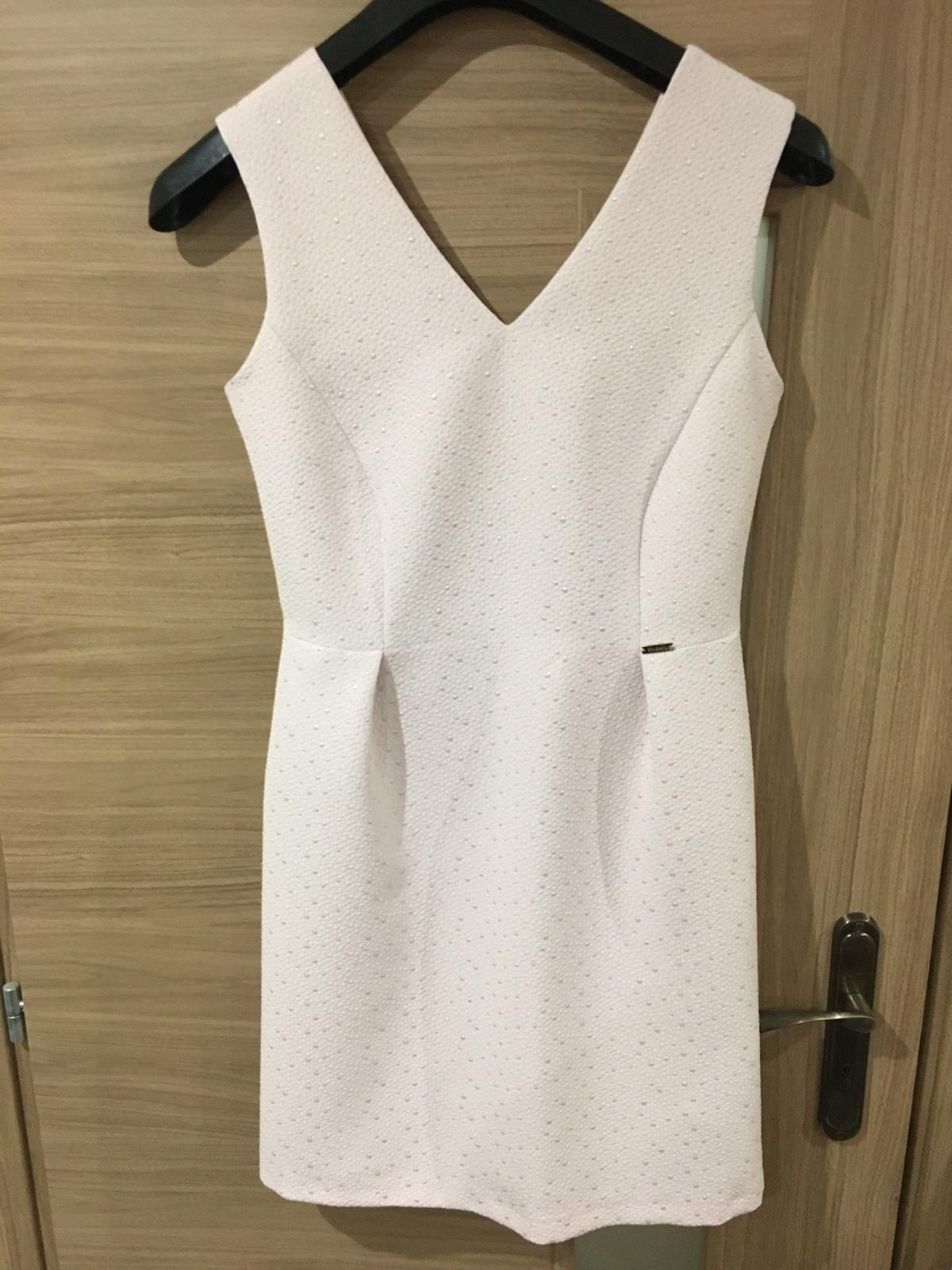 Svetloružové šaty - Obrázok č. 1