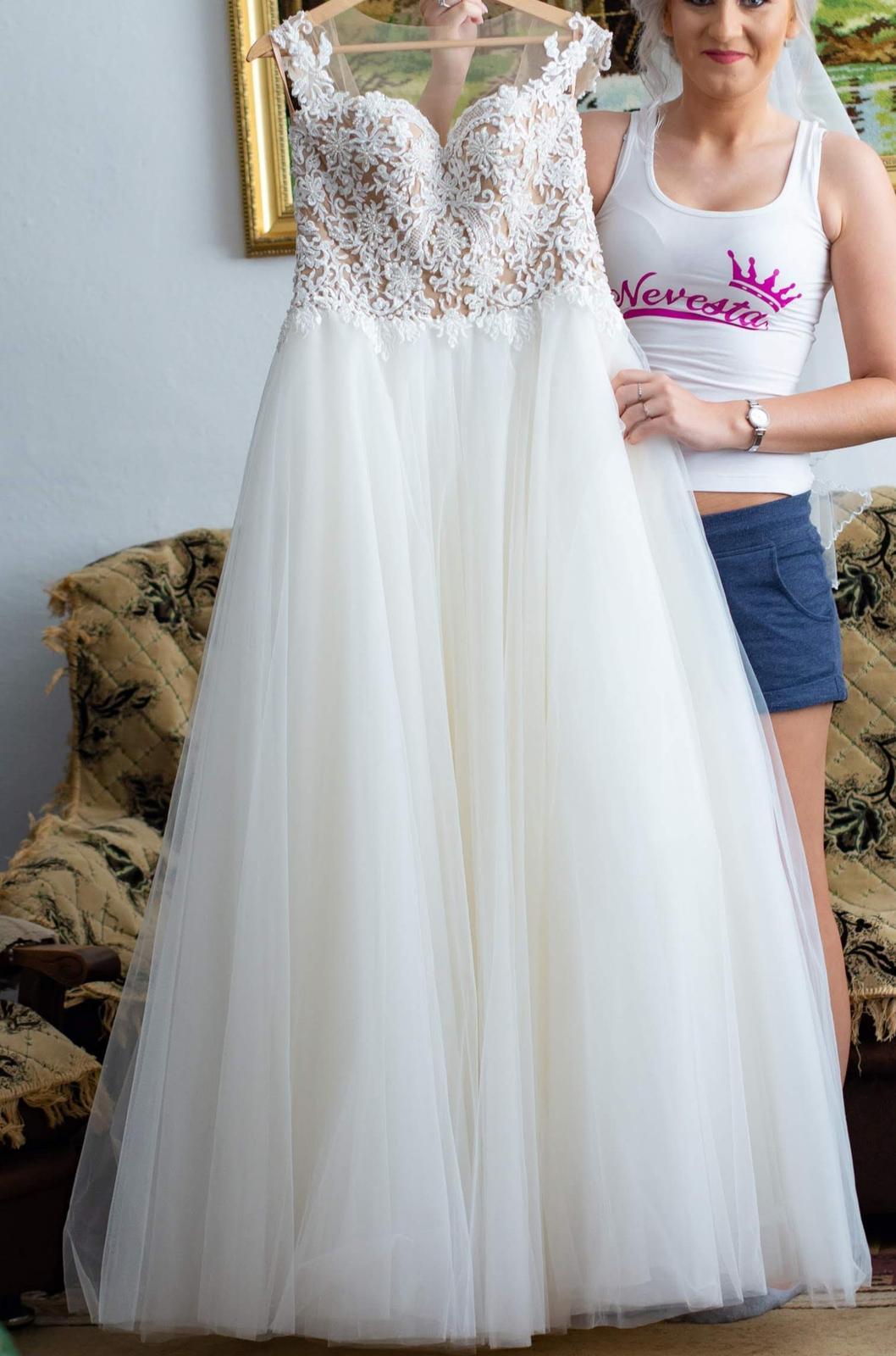 Predaj - svadobné šaty - Obrázok č. 2