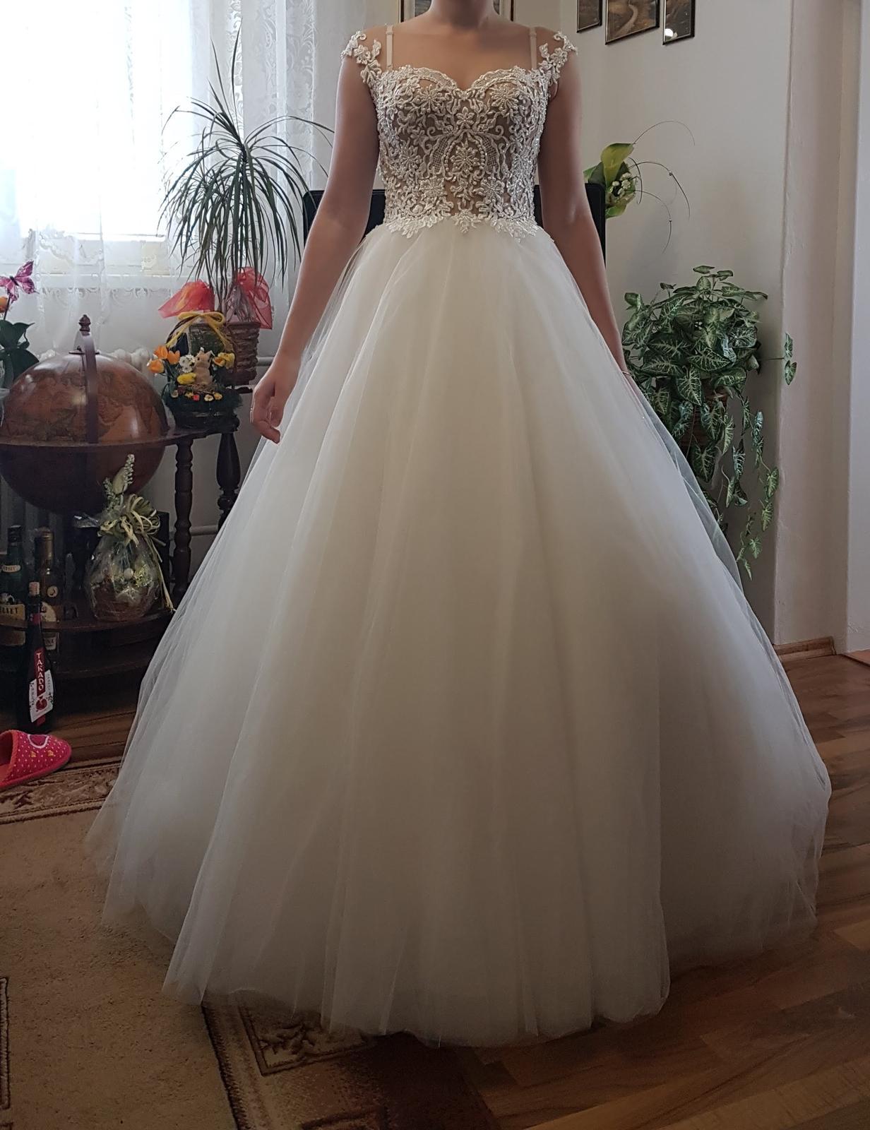 Predaj - svadobné šaty - Obrázok č. 3