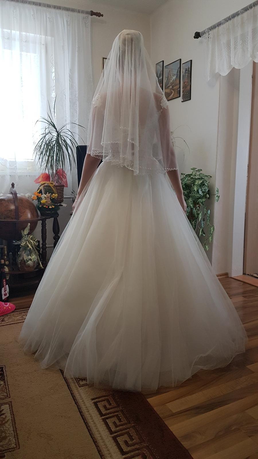 Predaj - svadobné šaty - Obrázok č. 4