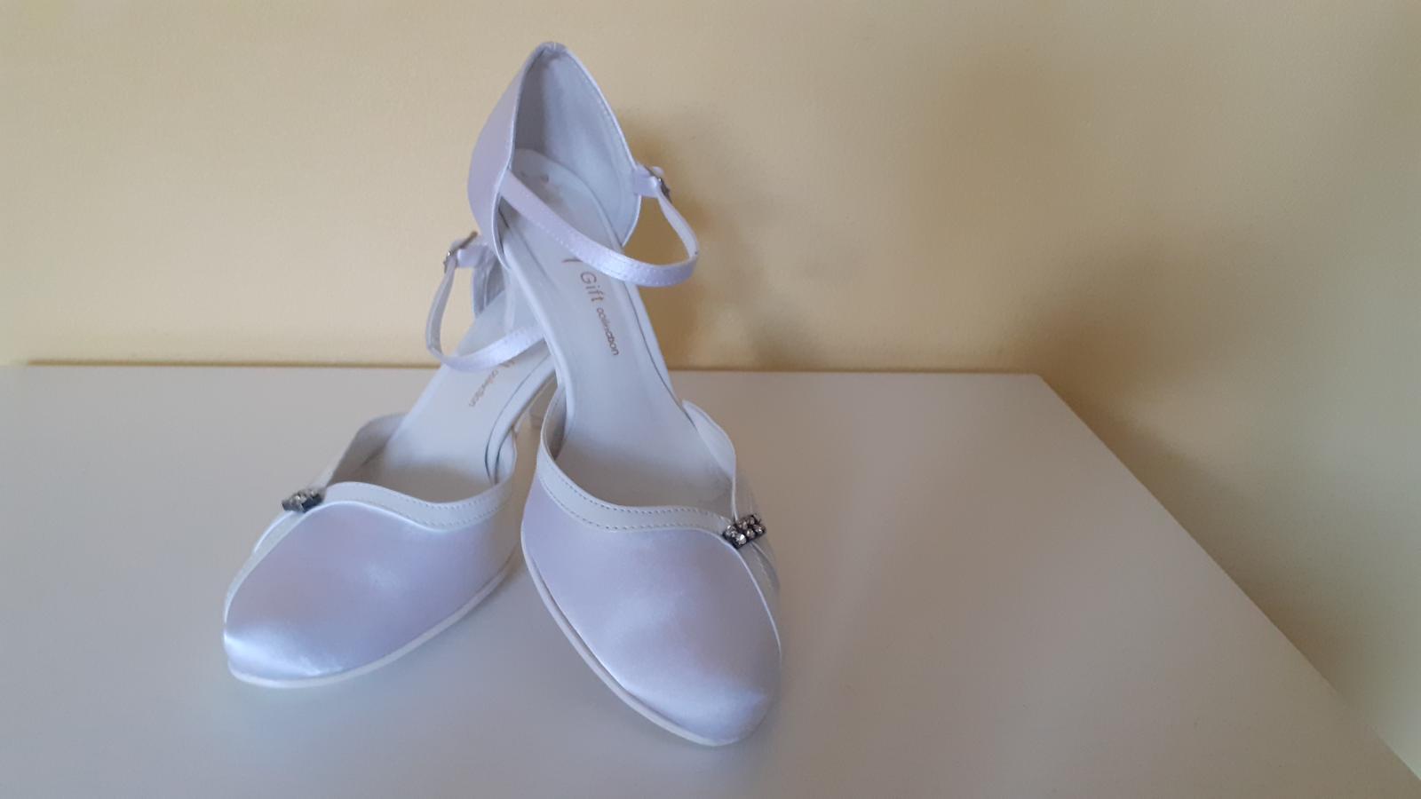 Svadobné topánky Gift - Obrázok č. 1