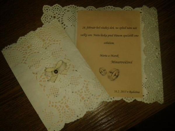Naše po-svadobné,  vlastná... - Obrázok č. 1