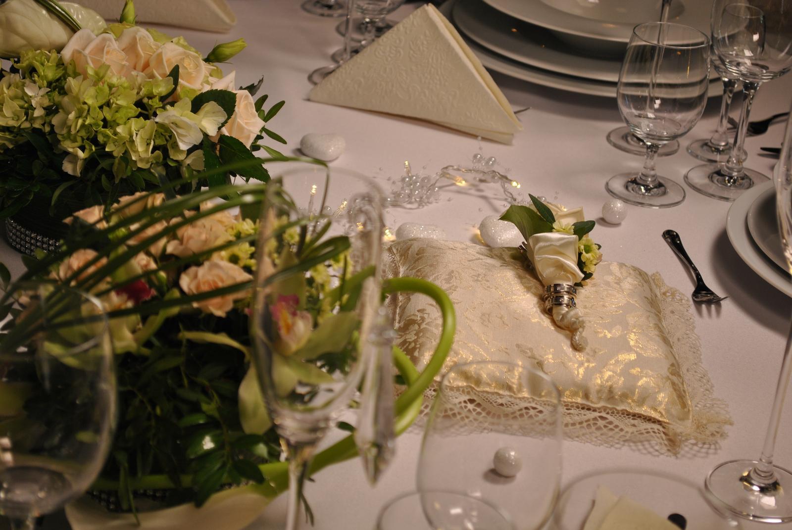 svadbaroca - elegantné prestieranie