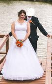 Svatební šaty vel. 42-46, 44