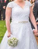 Svatební šaty 44-46, 44