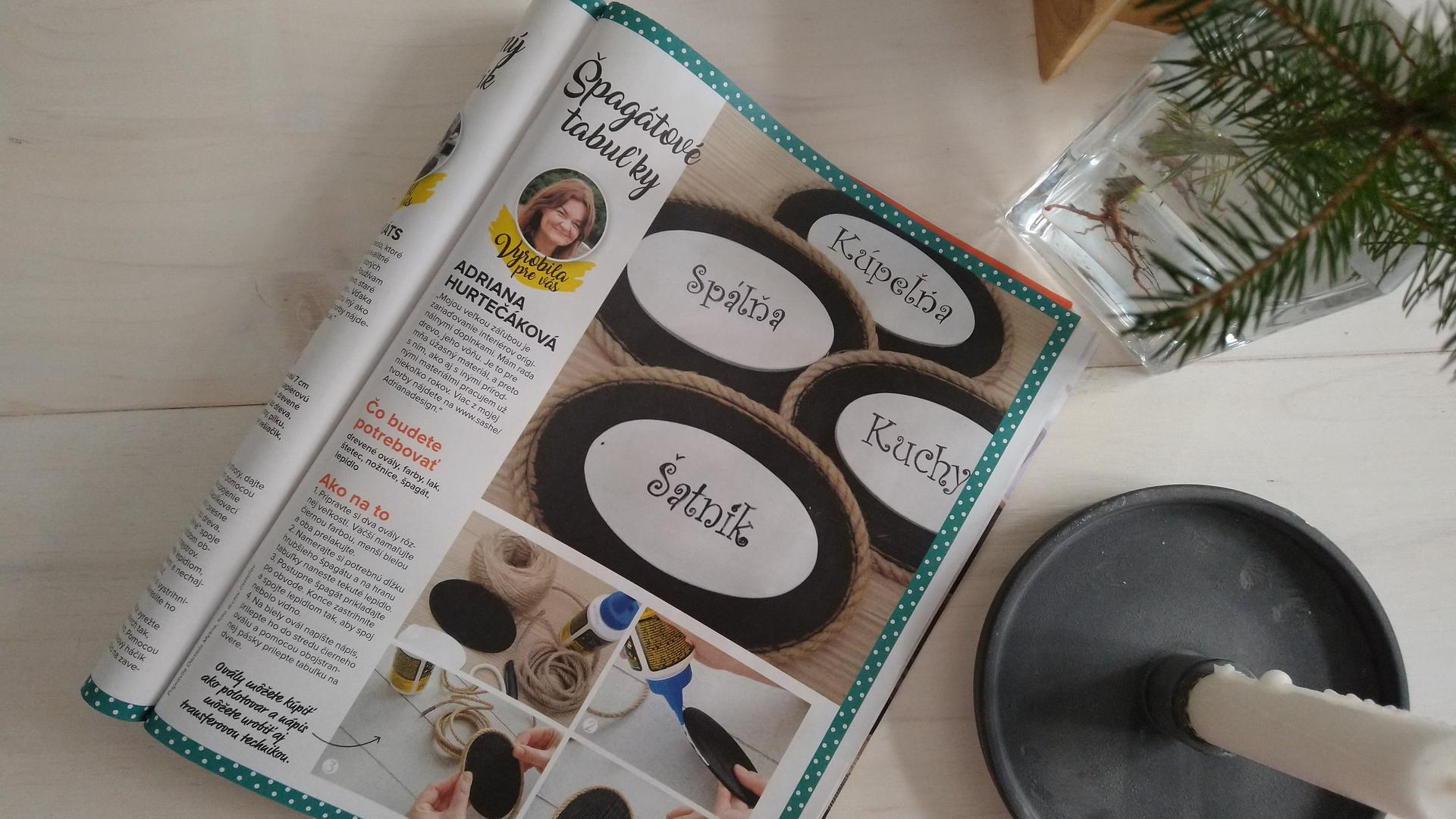 Ďakujem redakcii časopisu Lepšie bývanie ☺️🤗 - Obrázok č. 3