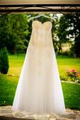 Svadobné šaty č.38-40, 38