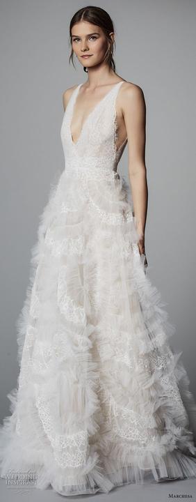 40cf8fb1b707 Svadobné šaty trendy jari 2018 -