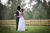 jemné svatební šaty, 36