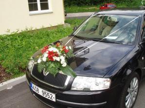 svatební Škoda Superb