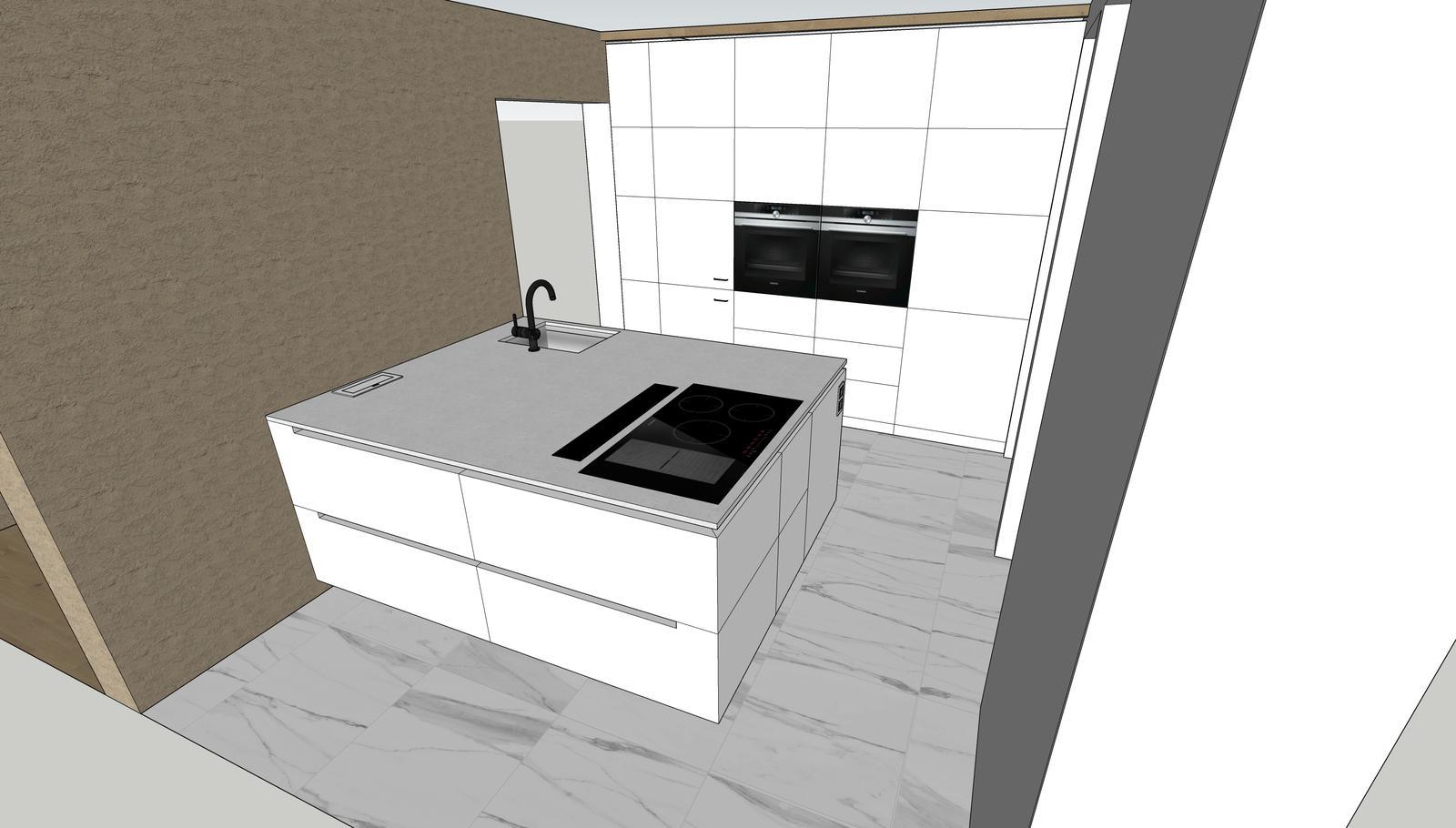 Naša cesta z mesta - Naša minimalistická kuchyňa :-) vizu