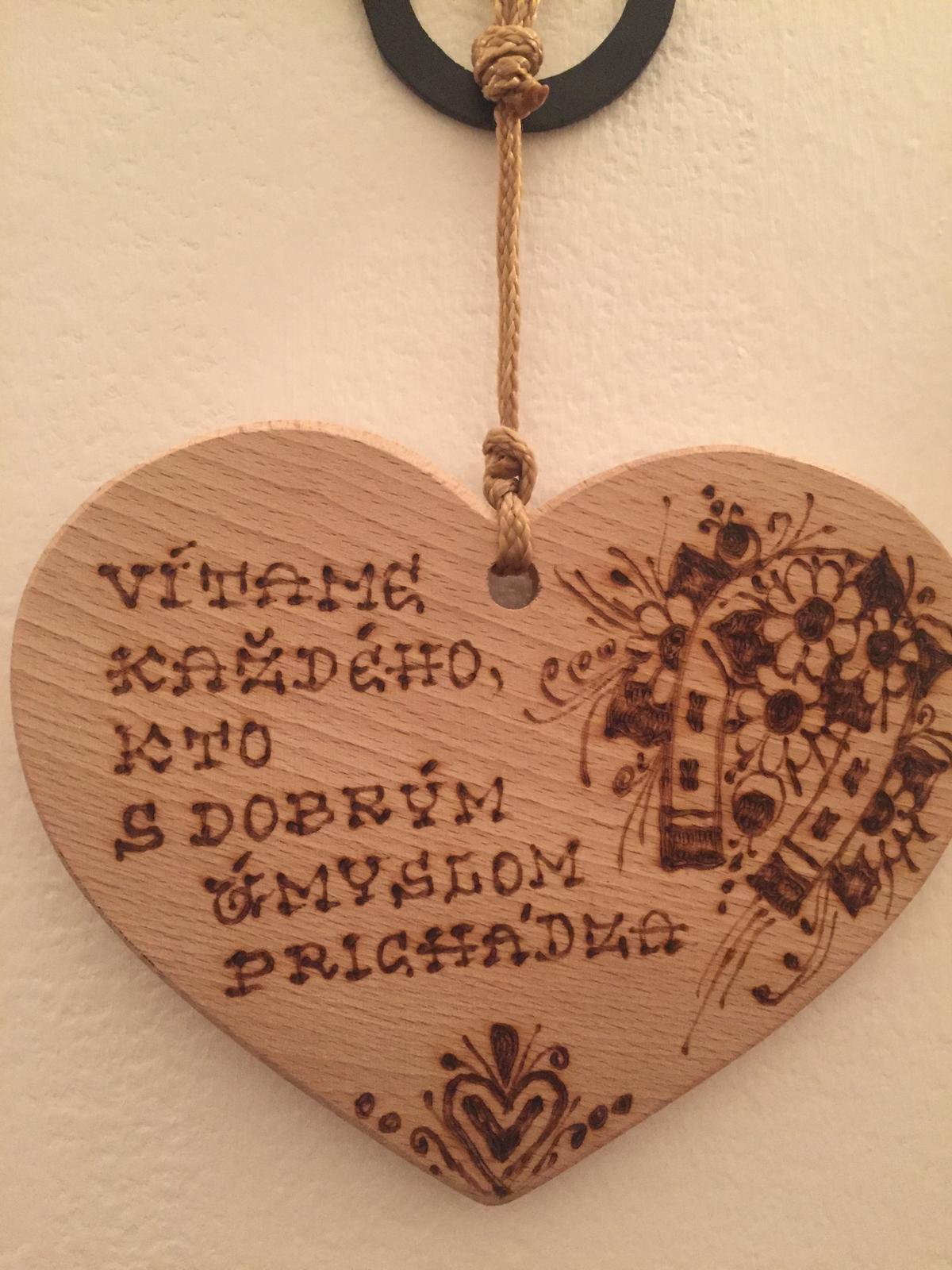 Srdiečko na dvere - Obrázok č. 1