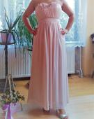 Spoločenské šaty, ružové, 36