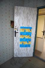 Dveře z ložnice, ať žije Hamánek! Hamánka do každé rodiny!