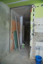 Naše nové dveře do kuchyně :)