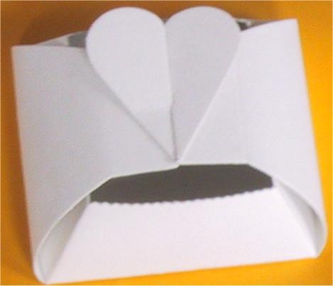 Košíček na výslužky pro pozvané hosty. (od Coxy)