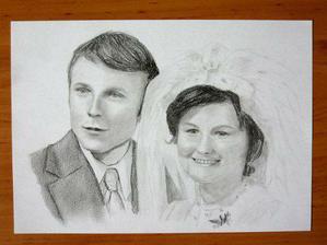 Tetě a strejdovi ke 40. výročí svatby...