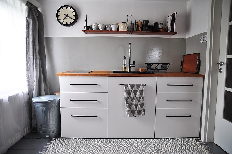 Podkroví na dočasné stálo - Minikuchyň v minipodkroví